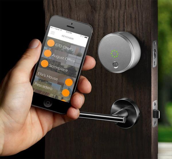 یکی از راه های افزایش امنیت ساختمان استفاده از قفلهای الکترونیکی است